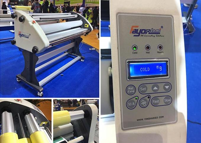 Professional  Cold Lamination Machine Silicon Roller Material 220v FY-1600 SE