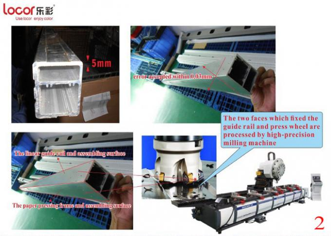 Black High Speed Large Format Printing Machine For Flex Banner Easy Operation