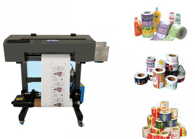 A3 Size Roll Label Printer Sticker Printing Machine For Adhesive / PVC Film
