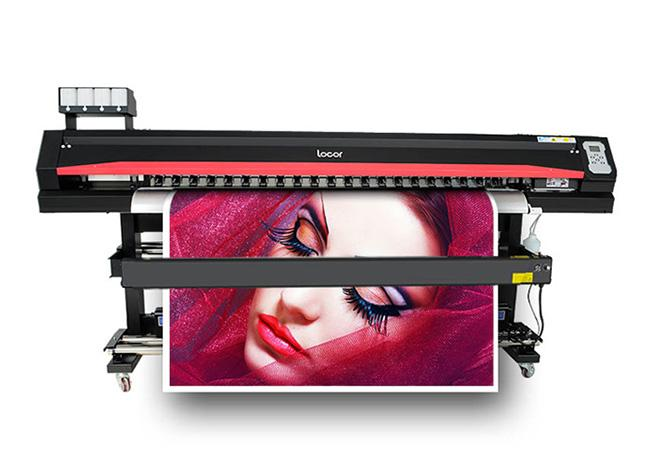 LOCOR High Resolution Inkjet DX5 Head Printing Machine High Speed Vinyl Sticker Photo Printer Plotter