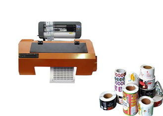 China 280mm Automatic Label Roll Printer , A3 Size Label Inkjet Printer 73x26x32cm supplier