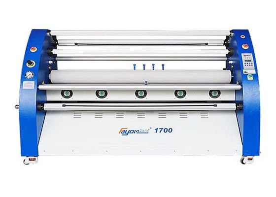 China Double Side Heater Large Format Cold Laminator High Performance 5.5 Feet supplier