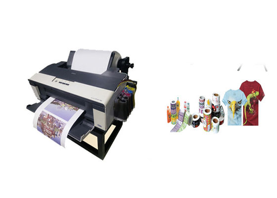 China Sublimation Ink Roll Label Printer Thermal Transfer USB Data Port 297mm supplier