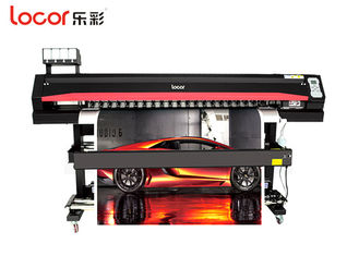 China Black High Speed Large Format Printing Machine For Flex Banner Easy Operation supplier