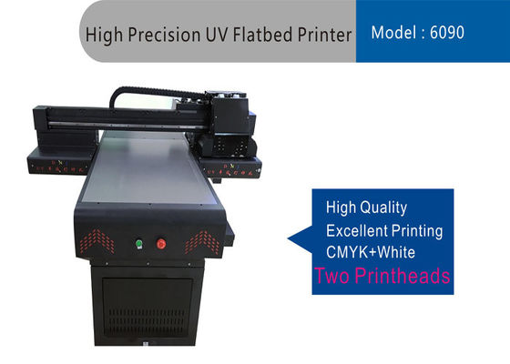 China Light Weight 6090 UV Flatbed Printer Equipment 1440 / 2160 / 2880 / D320dpi supplier