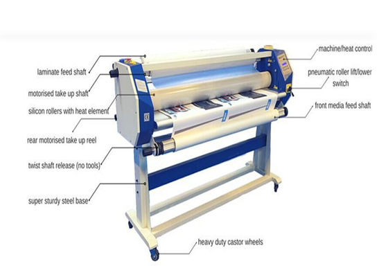 China Fayon 1600mm Electric Hot Lamination Machine With Pneumatic And Cutter supplier