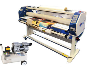 China 63 Inch Large Format Hot Lamination Machine , Hot Roll To Roll Laminator Equipment supplier