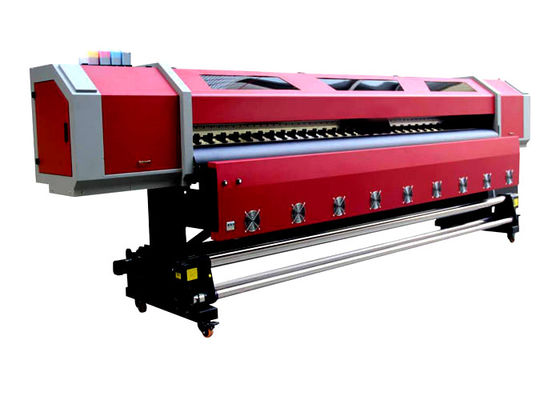 China Outdoor 3.2M Double Heads Eco-solvent Printing Machine For PP , Vinyl , Canvas supplier