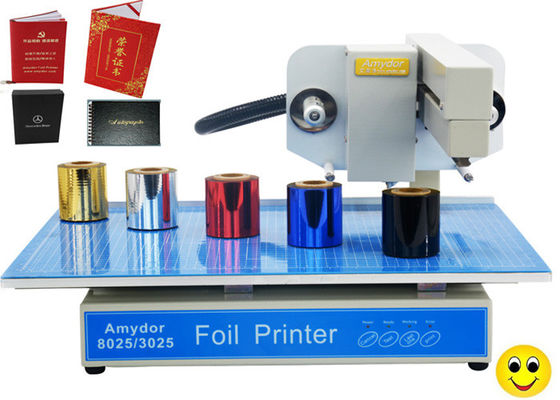 China 150w AMD-3025 Digital Hot Foil Printer , Foiling Machine For Cards / Certificates supplier