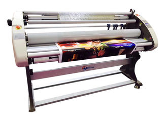 China Fully Automatic Cold Laminating Machine With Multi Function For Linerless Film , Liner Film With Back Cutting Function supplier