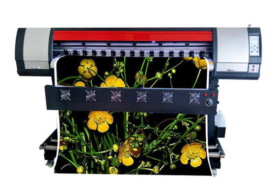 China High Speed Large Format Eco Solvent Printer , Vinyl Color Photo Plotter For Outdoor supplier