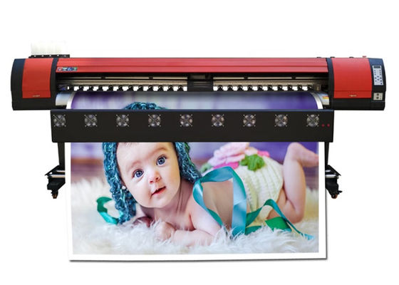 China Roll Graphic Paper Eco Solvent Printing Machine , Digital Inkjet Flex Printer Outdoor supplier