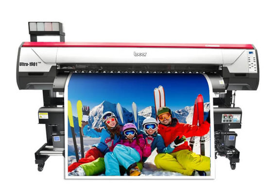 China Locor Large Format Textile Fabric T-shirt Plotter Machine 5113 Head Sublimation Printer supplier