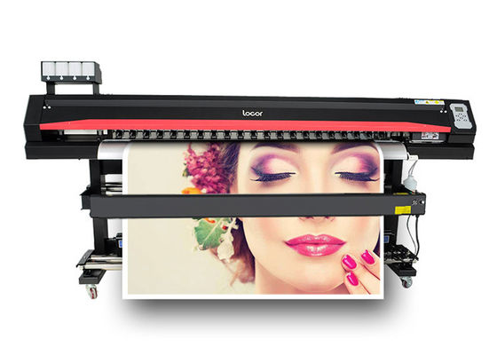 China LOCOR High Resolution Inkjet DX5 Head Printing Machine High Speed Vinyl Sticker Photo Printer Plotter supplier