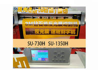 China 4 Ft Reflective Film Cutting Plotter Machine , Laser Positioning Engraving Plotter Machine factory