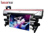 China Locor Eco Friendly Indoor Printing Machine For Sublimation Printing Auto Clearing System factory