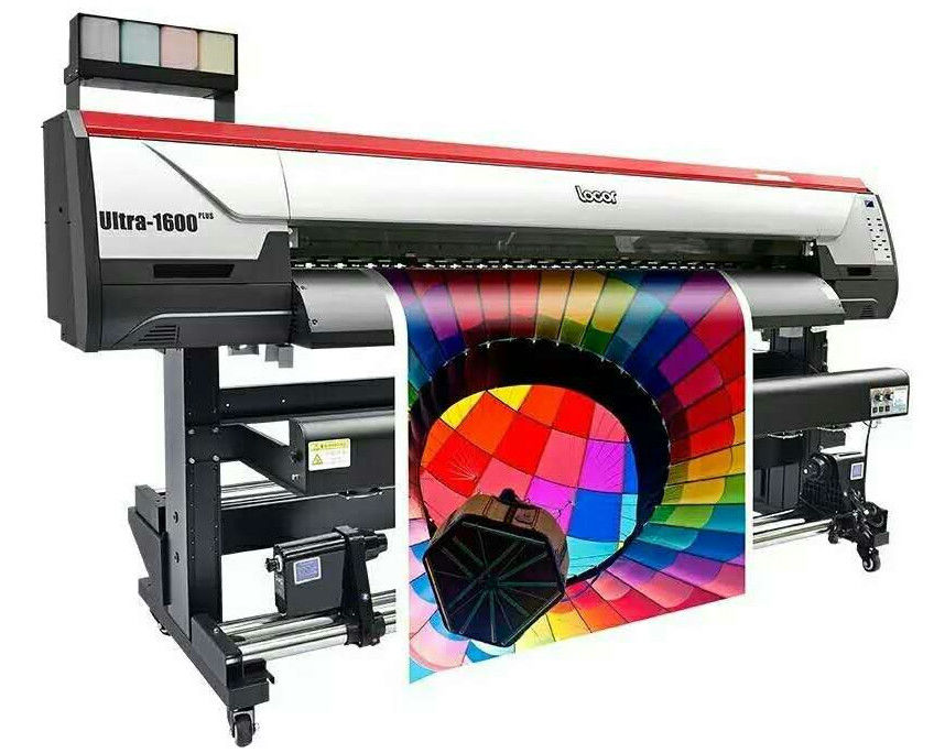 16m Hign End Large Format Inkjet Printer With DX5 Origional Print Head For Advertisements