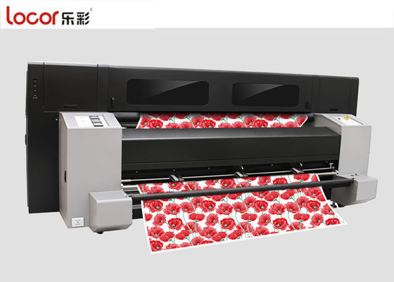 Outdoor Dye Sublimation Fabric Printer / Textile Inkjet Printer Large Format