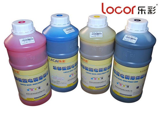 Original Ink Series Eco Solvent Ink For Outdoor Piezo Electric Inkjet Printer