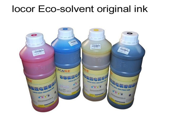 C / M / Y / K Ink Series Inkjet Printer Ink For Piezo Electric Outdoor Printer