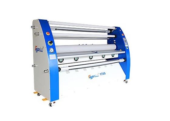 1700mm Wide Format Cold Laminator With CE Certification , 2.4mX1.55mX0.85m
