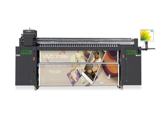 Multi Functional Rolling To Roll UV LED Printers High Speed 5370X1330X1850MM
