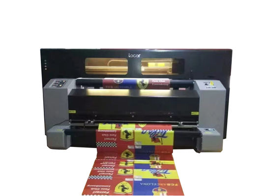 4 Ricoh / 2Ricoh Flag Printing Machine For Cotton / Silk Material 1.9 Meters