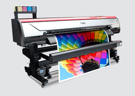 1.6m Wide Format Flex Banners Inkjet Printer Indoor Advertising Printing Machine