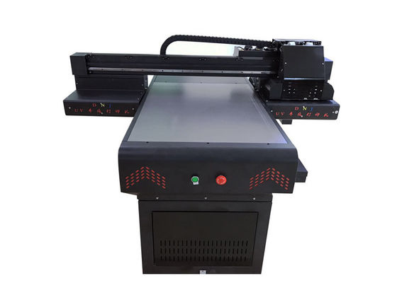 Small Format Digital Uv Flatbed Printing Machine Easy Maintenance 4 Color Mode