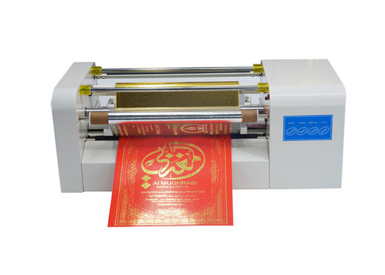 Automatic Hot Foil Stamping Machine , AMD-360C Gold Ribbon Printing Machine