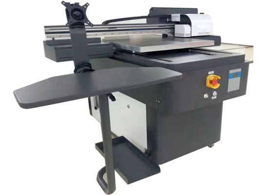 60*90cm A3 Size LED Flatbed Printer For Wood / Glass / Case / T Shirt Printing
