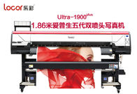 1.9M Easy Operation Indoor Printing Machine , wide format inkjet printer Stable Performance